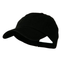 Ball Cap - Black Low Profile Dyed Cap