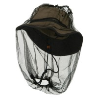 Flap Cap - Black Mosquito Bug Protector (Net Only)