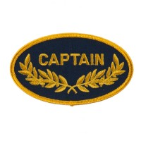 Patch - Captain Oak Leaf Embroidered Patch