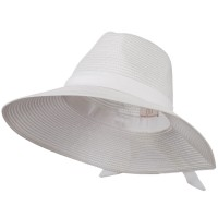 Dressy - White Polypropylene Braid Panama Hat