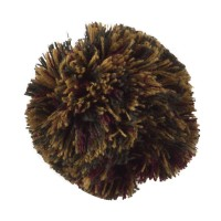 Pin , Badge - Mix Pom Pom Yarn Alligator Clip