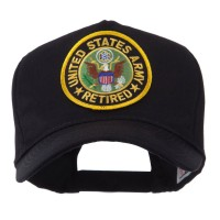 Embroidered Cap - US Army Retired Embroidered Patch Cap