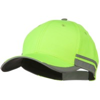 Ball Cap - Yellow Yellow Reflective Safety Cap