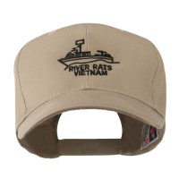 Embroidered Cap - Khaki Riverboat Embroidered Cap