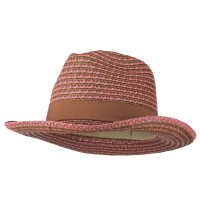 Western - Pink UPF 50+ Multi Color Cowboy Hat