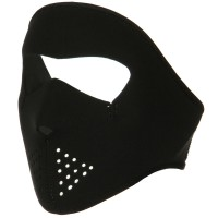 Face Mask - Black Smaller Face Full Mask