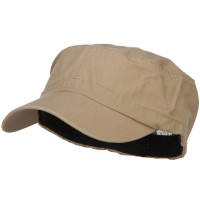Cadet - Khaki Big Size Fitted Military Army Cap