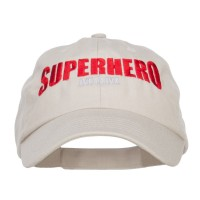 Embroidered Cap - Khaki Superhero Mom Embroidered Cap