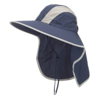 Outdoor - Navy Talson UV Large Bill Flap Hat