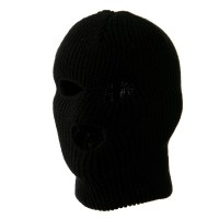 Face Mask - Black Youth Three Hole Face Mask