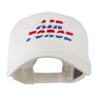 Embroidered Cap - White Color Air Force Embroidered Cap