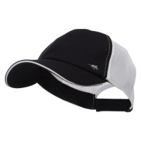 Ball Cap - Black Athletic Two Tone Mesh Cap