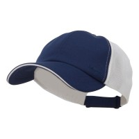 Ball Cap - Navy Athletic Two Tone Mesh Cap