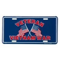 Plate, Frame - Vietnam USA 3D License Plates