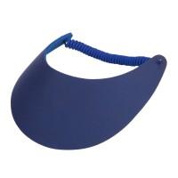 Visor - Royal Fabric Foam Sun String Visor