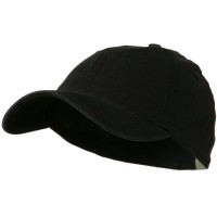 Ball Cap - Black Washed Natural Fit Cap