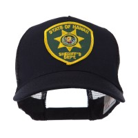 Embroidered Cap - HI State US Western State Police Patch Cap