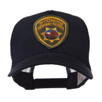 Embroidered Cap - WY Hwy US Western State Police Patch Cap