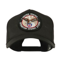 Embroidered Cap - Desert Storm 3 War & Operation Embroidery Patch Cap