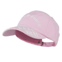 Embroidered Cap - Pink Youth Air Force Embroidered Cap