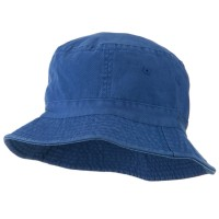 Bucket - Indigo Youth Dyed Washed Bucket Hat