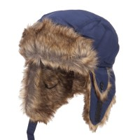 Trooper - Blue Youth Trapper Hat