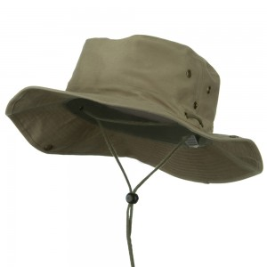 Outdoor - Khaki Extra Big Size Aussie Hats