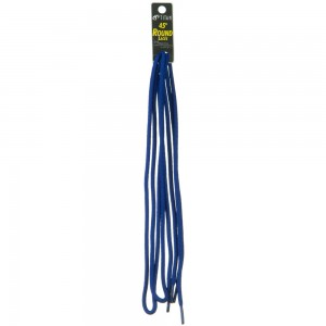 Chain - Royal Blue Round Shoe Laces 45 Inches