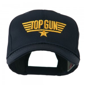 Embroidered Cap - Navy US Navy Top Gun Embroidered Cap