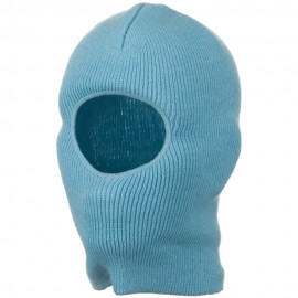 Kid's One Hole Superstretch Mask - Light Blue