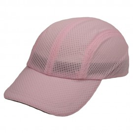 4 Panel Athletic Mesh Cap-Pink