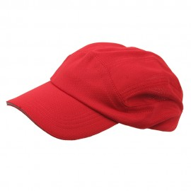Athletic Casual Cap-Red