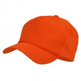 Cotton Twill Golf Cap - Orange