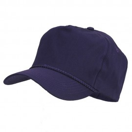 Cotton Twill Golf Cap - Purple