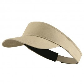 Brushed Cotton Sunvisor - Khaki