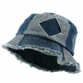 Youth Denim Bucket Hat-Blues Cut