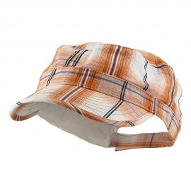 Twill Fashion Engineer Cap-Orange