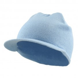 Cuffless Beanie Sports Visor