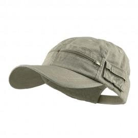 Cotton Washed Pocket Cap