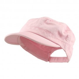 Enzyme Regular Solid Army Caps-Pink
