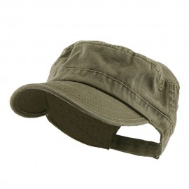 Enzyme Regular Solid Army Caps-Olive