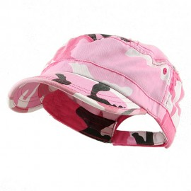 Enzyme Regular Army Caps- Pink Camo