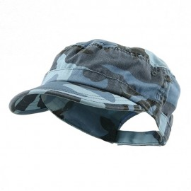 Enzyme Regular Army Caps-Sky Blue Camo