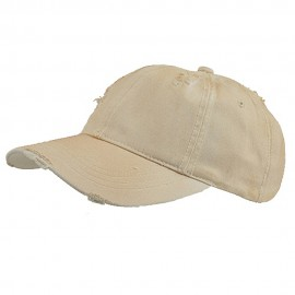 Low Profile Washed Cotton Twill Cap