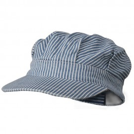 Light Striped Conductor's Cap