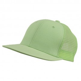 Cotton Mesh Cap-Lime