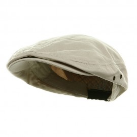Washed Canvas Ivy Cap - Stone
