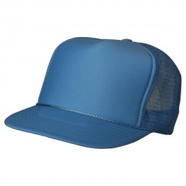 Foam Mesh Cap-Light Blue