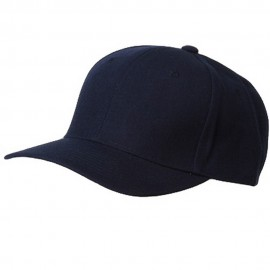 Fitted Cap-Navy