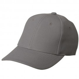 Fitted Cap-Grey